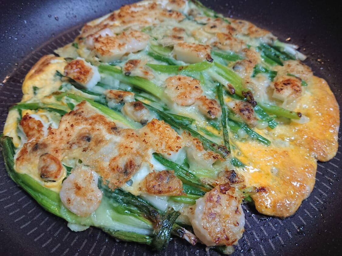 本格!海鮮ねぎチヂミの作り方。韓国人料理研究家+本場の人気店レシピ(해물파전)