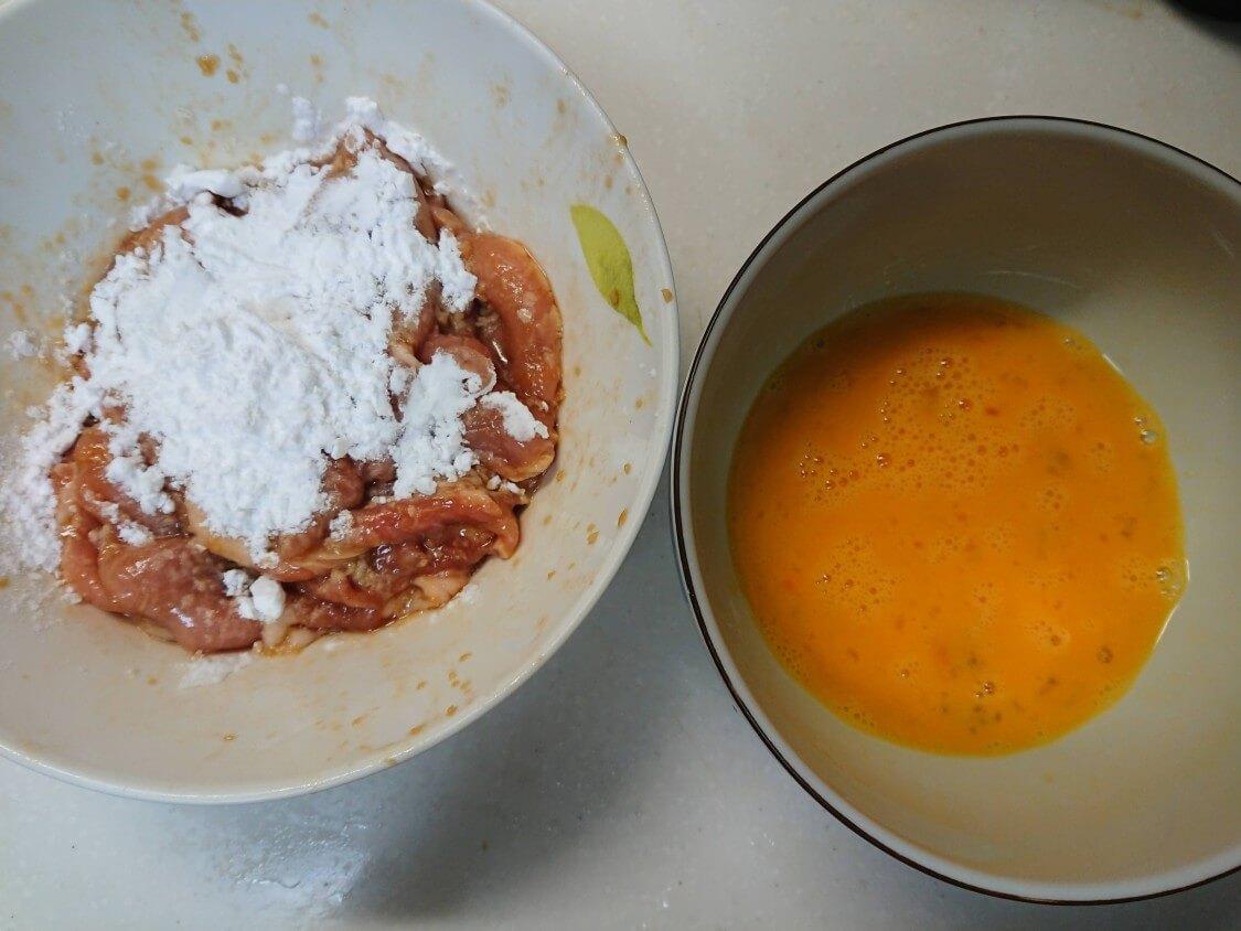 韓国の牛肉&豚肉チヂミ「육전」人気レシピ。衣は小麦粉と溶き卵