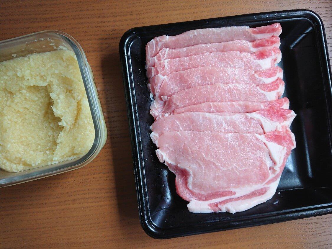 韓国の牛肉&豚肉チヂミ「육전」人気レシピ。材料