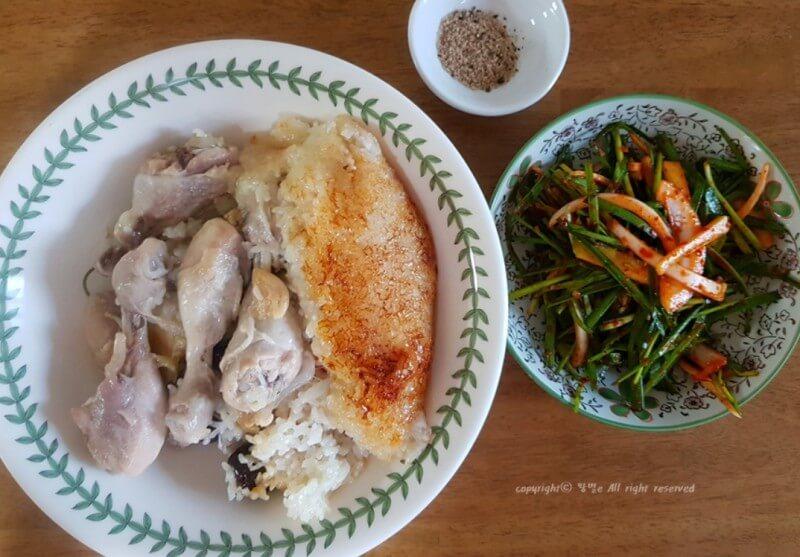 炊飯器で簡単サムゲタン!韓国人のレシピ