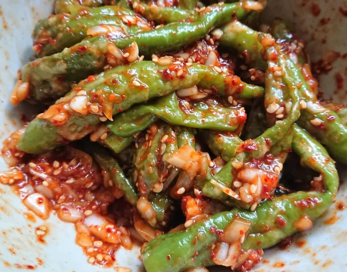 レンジで♪ししとうの甘辛和えレシピ。韓国人気の作り置きおかずを簡単に!