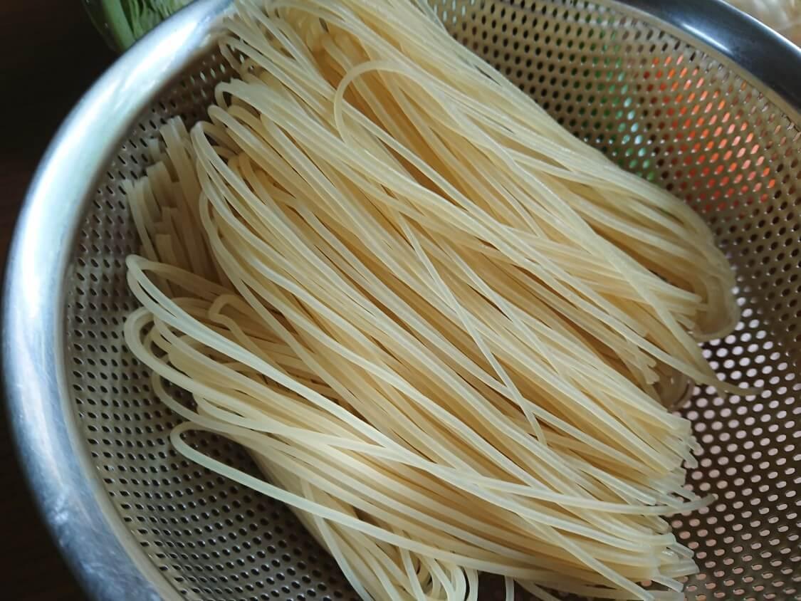 「チョル麺」韓国レシピとアレンジ。チョルミョンの麺について
