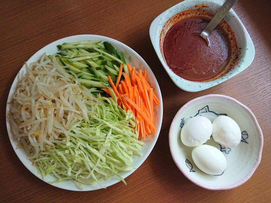 「チョル麺」韓国レシピとアレンジ。チョルミョンの具材とタレ