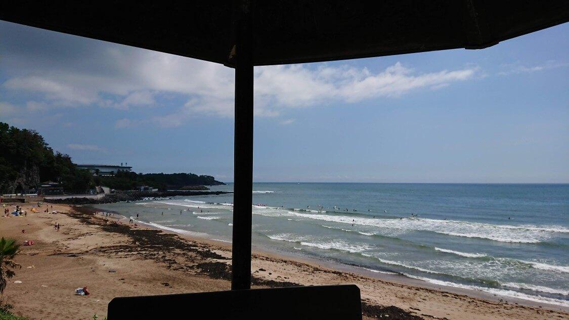 【チェジュ島旅③】ロッテホテル&新羅ホテルのビーチ散歩