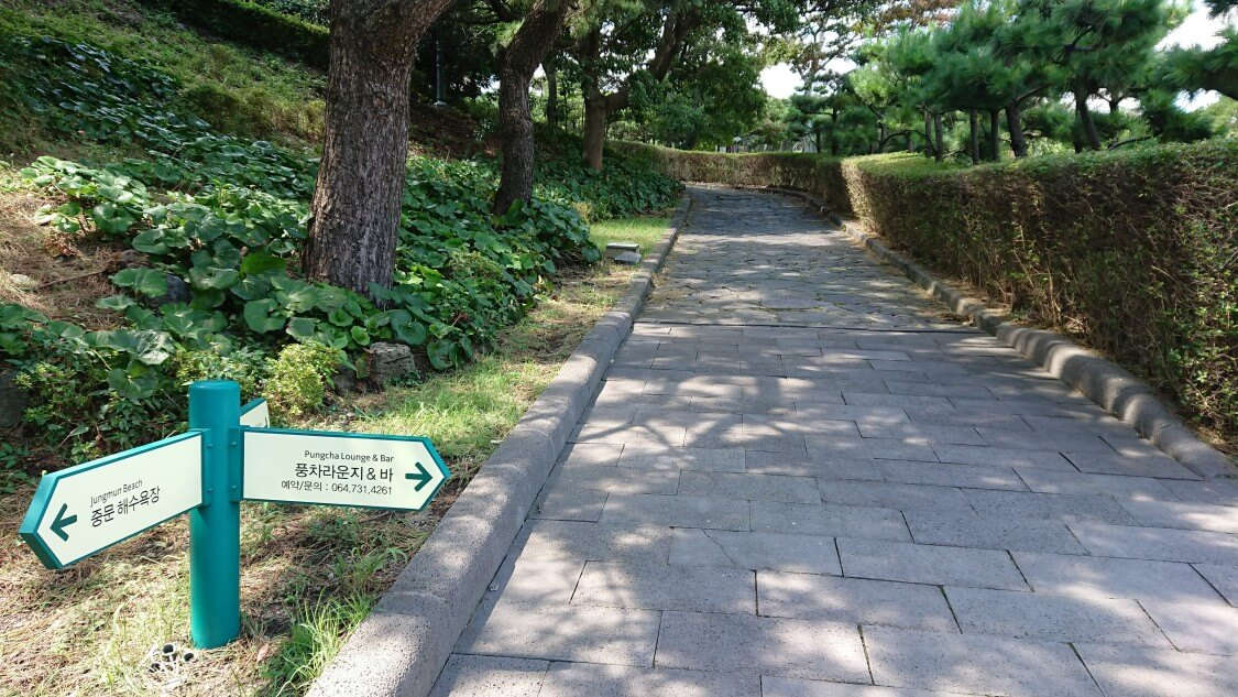 【チェジュ島旅③】ロッテホテルのビーチ散歩