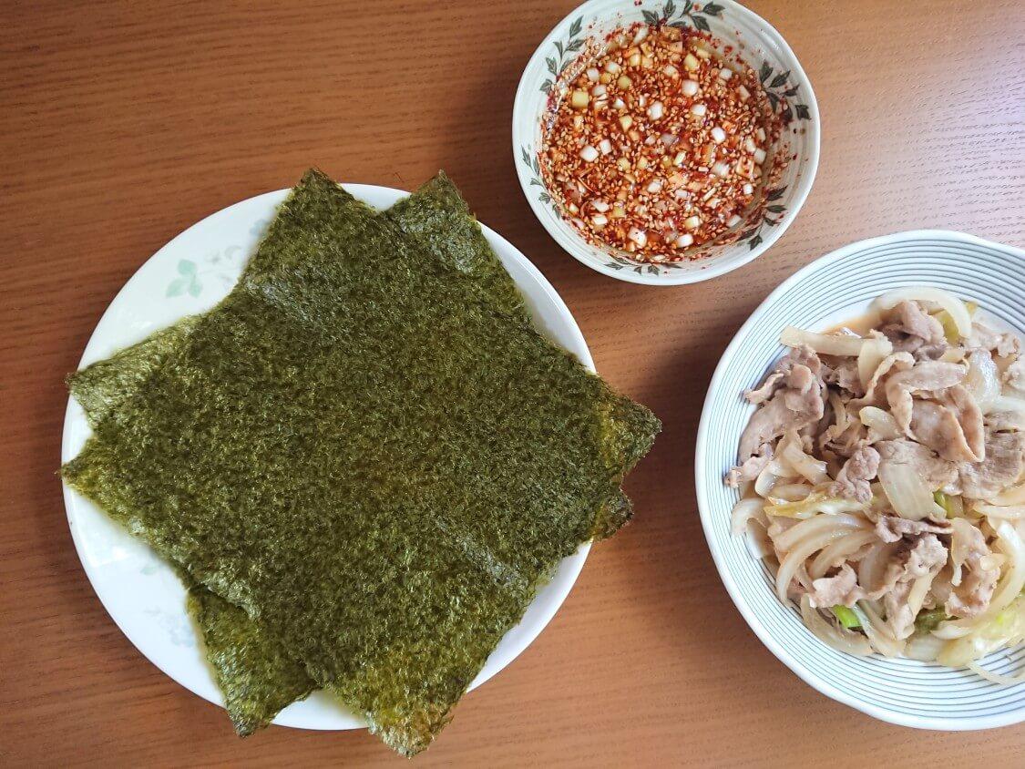 もやしご飯のレシピ。付け合わせにおすすめのおかず&韓国海苔