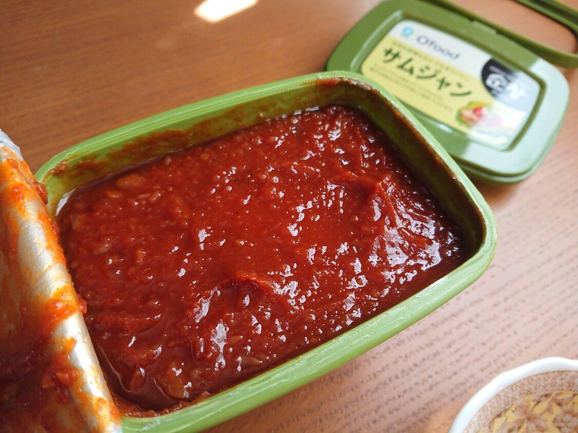 韓国ピリ辛味噌「サムジャン」市販+手作り+活用レシピ。炒め物・和え物・チゲにも