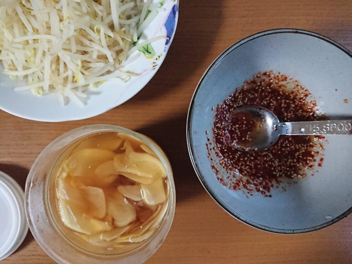 万能副菜<白髪ねぎキムチ>韓国レシピ。味付けのヤンニョム、しょうがシロップ