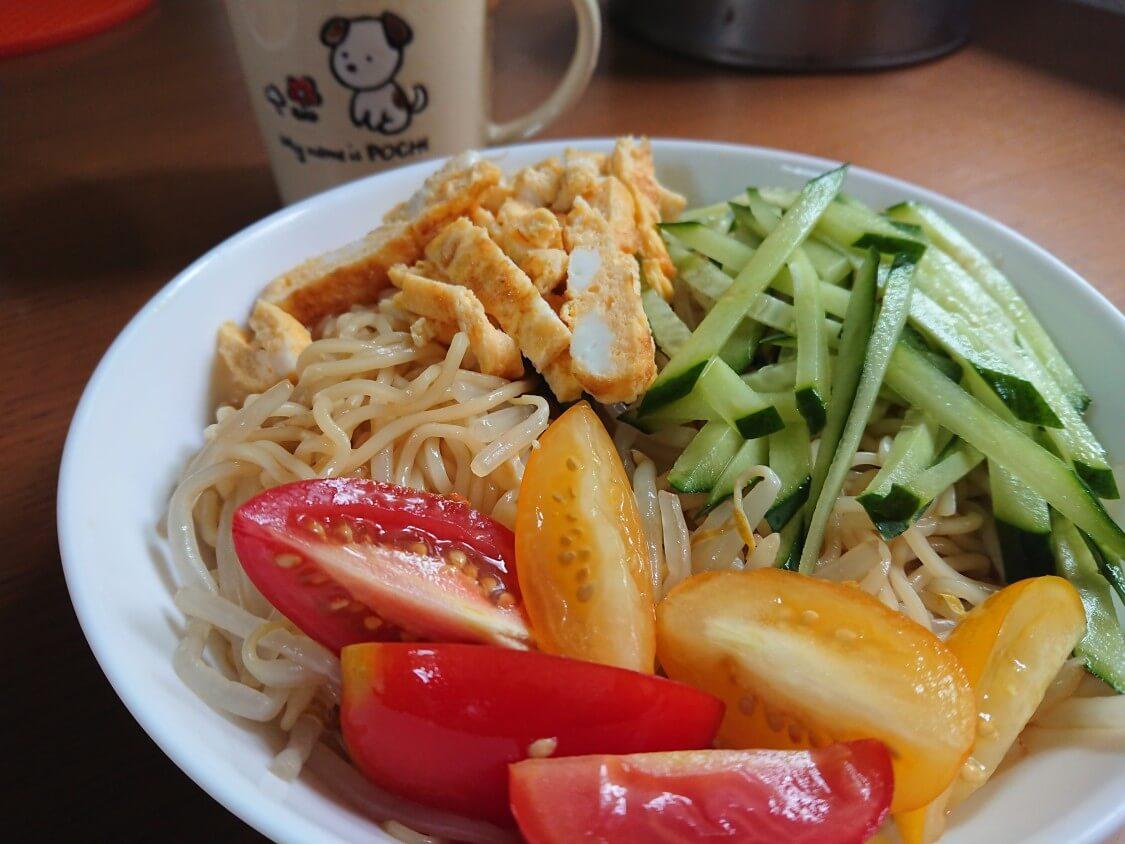 トマトを活用できる料理レシピ。冷やし中華の具